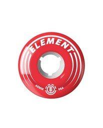 0 Filmer 60 MM Wheels Red WHLG178A Element