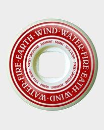 0 92 WIDES 55MM SKATEBOARD WHEELS  WHLGF92W Element