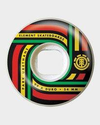 0 Sonic 54MM Park Skateboard Wheels  WHLGHS54 Element