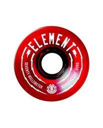 0 Rasta 70MM Wheels Multicolor WHLGS70R Element
