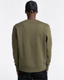 3 92 - Sweatshirt for Men Green Z1CRC1ELF1 Element