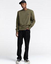 2 92 - Sweatshirt for Men Green Z1CRC1ELF1 Element