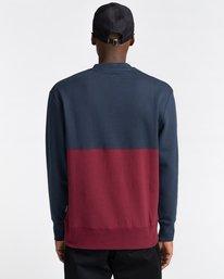 3 Bryne - Sweatshirt for Men Blue Z1CRC2ELF1 Element