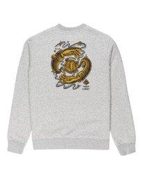 1 Rotation - Sweatshirt for Men Grey Z1CRC5ELF1 Element