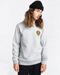 2 Rotation - Sweatshirt for Men Grey Z1CRC5ELF1 Element