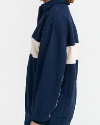 3 Maltby - Sweat zippé pour Unisexe Bleu Z1FLC1ELF1 Element