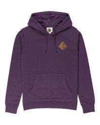 0 Elliptical - Hoodie for Men Purple Z1HOC8ELF1 Element