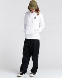 3 Elliptical - Sweat à capuche pour Homme Blanc Z1HOC8ELF1 Element