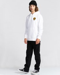 3 Rotation - Sweat à capuche pour Homme Blanc Z1HOC9ELF1 Element