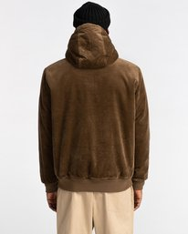 6 Dulcey Corduroy - Water-Resistant Jacket for Men Brown Z1JKE1ELF1 Element