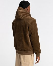 3 Dulcey Corduroy - Water-Resistant Jacket for Men Brown Z1JKE1ELF1 Element