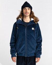1 Dulcey Corduroy - Water-Resistant Jacket for Men Blue Z1JKE1ELF1 Element