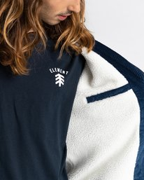 5 Dulcey Corduroy - Water-Resistant Jacket for Men Blue Z1JKE1ELF1 Element