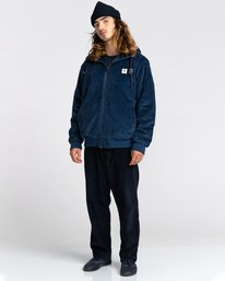 6 Dulcey Corduroy - Water-Resistant Jacket for Men Blue Z1JKE1ELF1 Element