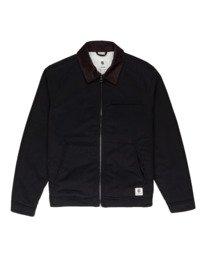 0 Craftman - Water-Resistant Jacket for Men Black Z1JKE3ELF1 Element