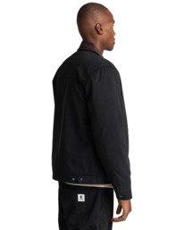 3 Craftman - Water-Resistant Jacket for Men Black Z1JKE3ELF1 Element