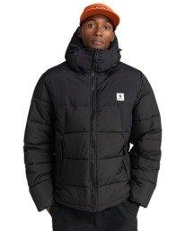 1 Dulcey - Water-Resistant Jacket for Men Black Z1JKF7ELF1 Element