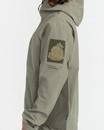 2 RCA - Polartec® Waterproof Jacket for Unisex Green Z1JKG8ELF1 Element