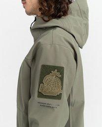 3 RCA - Polartec® Waterproof Jacket for Unisex Green Z1JKG8ELF1 Element