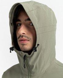5 RCA - Polartec® Waterproof Jacket for Unisex Green Z1JKG8ELF1 Element