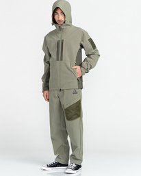 7 RCA - Polartec® Waterproof Jacket for Unisex Green Z1JKG8ELF1 Element