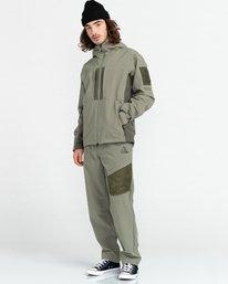 8 RCA - Polartec® Waterproof Jacket for Unisex Green Z1JKG8ELF1 Element