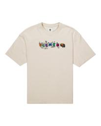 0 Galaxy - T-shirt pour Unisexe Jaune Z1KTC1ELF1 Element