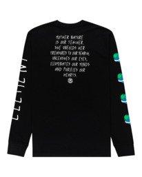 1 Ravana - Camiseta de Manga Larga para Hombre Negro Z1LSD7ELF1 Element