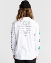 6 Ravana - Camiseta de Manga Larga para Hombre Blanco Z1LSD7ELF1 Element