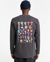 5 Shrooms Guide - Camiseta de Manga Larga para Hombre Negro Z1LSE2ELF1 Element