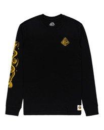 0 Acceptance - T-shirt manches longues pour Homme Noir Z1LSE3ELF1 Element