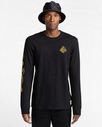 2 Acceptance - T-shirt manches longues pour Homme Noir Z1LSE3ELF1 Element