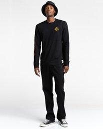 4 Acceptance - T-shirt manches longues pour Homme Noir Z1LSE3ELF1 Element