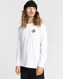 2 Acceptance - T-shirt manches longues pour Homme Blanc Z1LSE3ELF1 Element