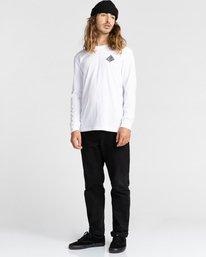 4 Acceptance - T-shirt manches longues pour Homme Blanc Z1LSE3ELF1 Element