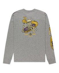 1 Transender - T-shirt manches longues pour Homme Gris Z1LSE4ELF1 Element