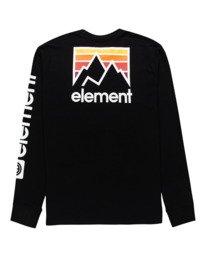 1 Joint - T-shirt manches longues pour Unisexe Noir Z1LSE5ELF1 Element