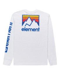 1 Joint - T-shirt manches longues pour Unisexe Blanc Z1LSE5ELF1 Element