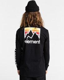5 Joint - T-shirt manches longues pour Unisexe Noir Z1LSE5ELF1 Element