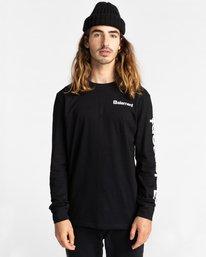 2 Joint - T-shirt manches longues pour Unisexe Noir Z1LSE5ELF1 Element