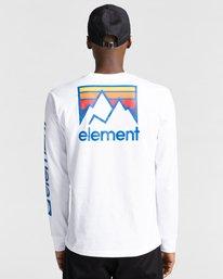 5 Joint - T-shirt manches longues pour Unisexe Blanc Z1LSE5ELF1 Element