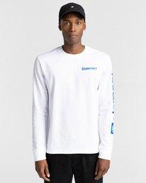2 Joint - T-shirt manches longues pour Unisexe Blanc Z1LSE5ELF1 Element