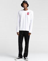 3 Pota Dominion - Long Sleeve T-Shirt for Unisex White Z1LSE7ELF1 Element