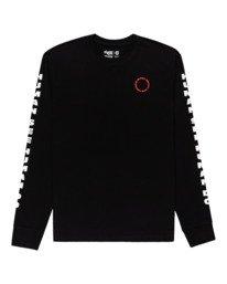 0 Pota Surge - Long Sleeve T-Shirt for Unisex Black Z1LSE9ELF1 Element
