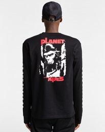 6 Pota Surge - Long Sleeve T-Shirt for Unisex Black Z1LSE9ELF1 Element