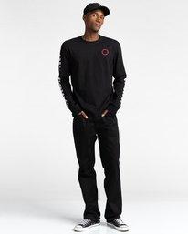 5 Pota Surge - Long Sleeve T-Shirt for Unisex Black Z1LSE9ELF1 Element