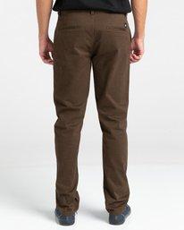 5 Howland Classic - Pantalon chino pour Homme Marron Z1PTC5ELF1 Element