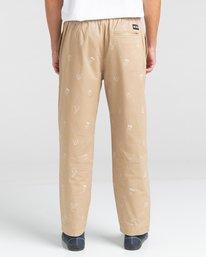 6 Chillin Galaxy - Pantalon pour Unisexe Gris Z1PTD6ELF1 Element