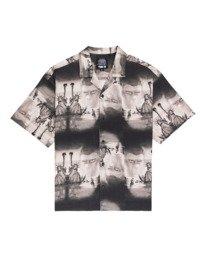 0 Pota Paradise - Short Sleeve Shirt for Unisex Black Z1SHD7ELF1 Element