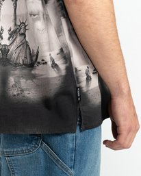 3 Pota Paradise - Short Sleeve Shirt for Unisex Black Z1SHD7ELF1 Element